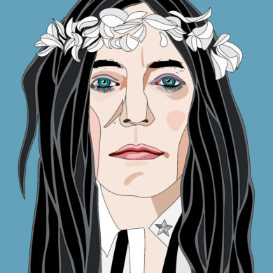 Patti Smith di Gubrin